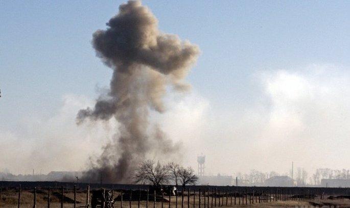 На складі боєприпасів на Харківщині сталися потужні вибухи