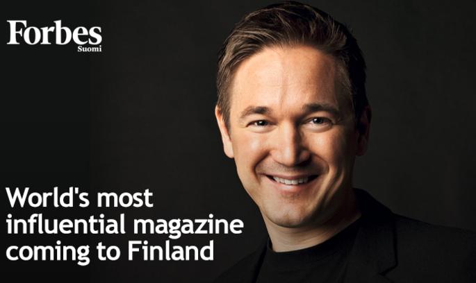 Латвійський видавець запустив Forbes Фінляндія