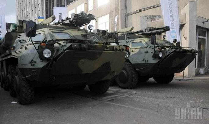 Таїланд відмовляється від українських БТР