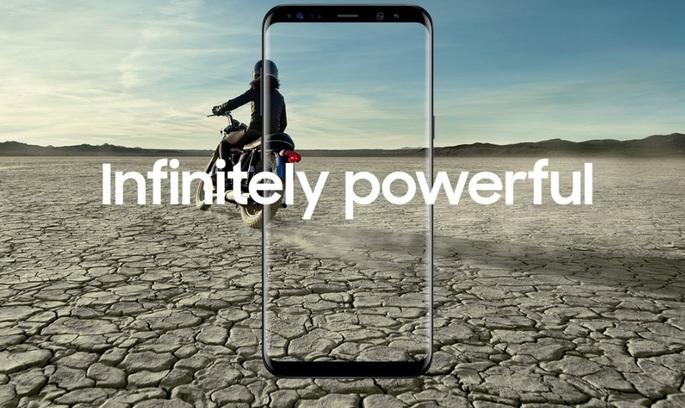 «Безкінечний дисплей»: Samsung офіційно представив Galaxy S8