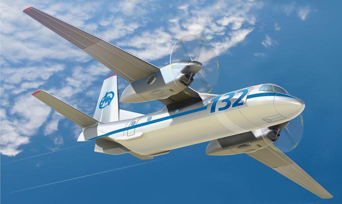 Сьогодні вперше злетить новий Ан-132