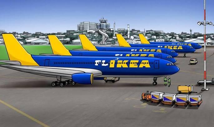 Меблева компанія IKEA заявила про створення власного лоукосту