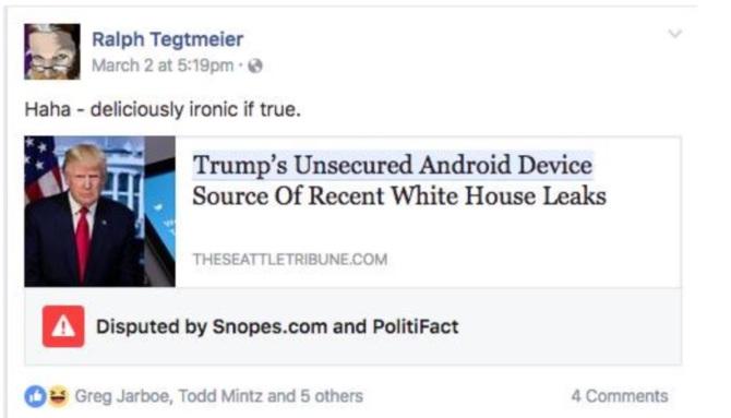 «Фактчекінг»: хто перевіряє достовірність інформації на Facebook