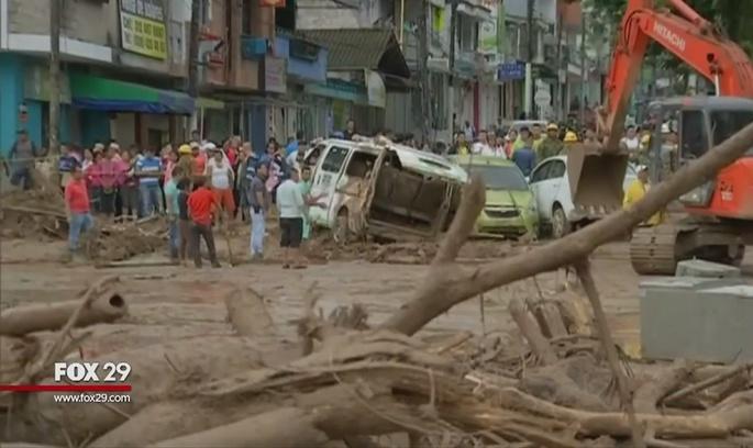У Колумбії зростає кількість жертв селевого потоку (ВІДЕО)