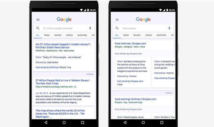 Правда чи фейк? Google вводить нову позначку для новин