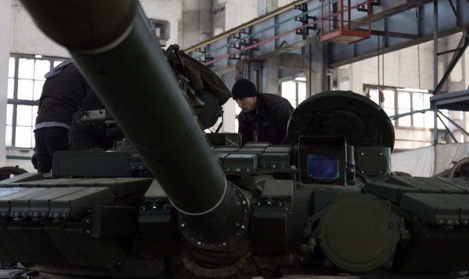 Харківський бронетанковий завод відремонтував 60 танків (ВІДЕО)
