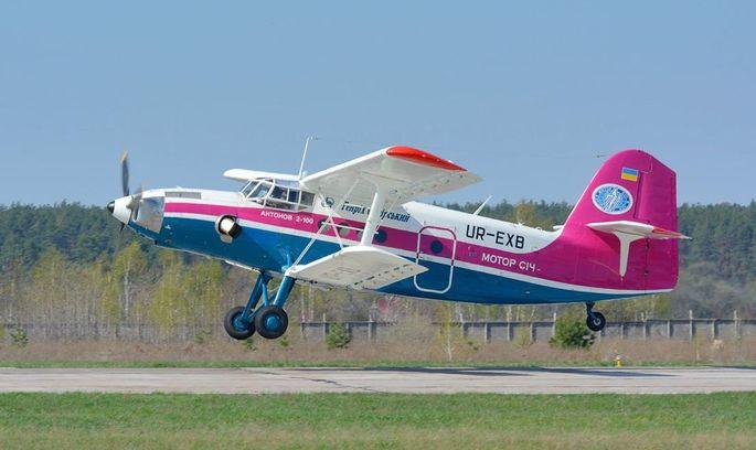 «Антонов»: на випробуваннях Ан-2-100 встановив рекорд