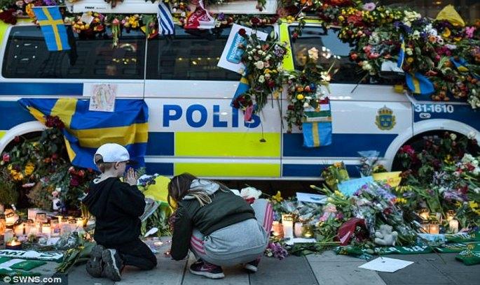 Винуватець наїзду на людей у Стокгольмі зізнався у скоєному