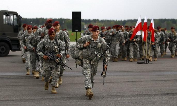 НАТО розмістила свій батальйон у Польщі