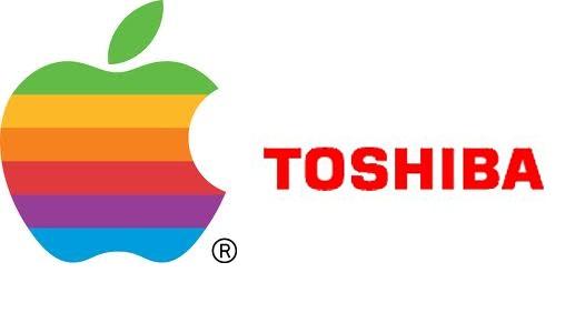 Apple купить частку в компанії Toshiba