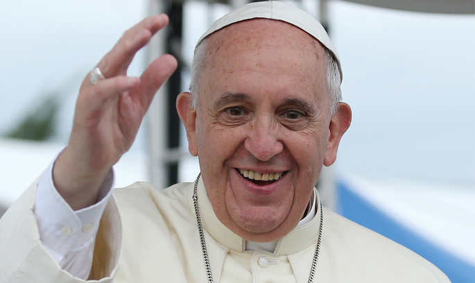 Папа Римський у великодній промові згадав про Україну