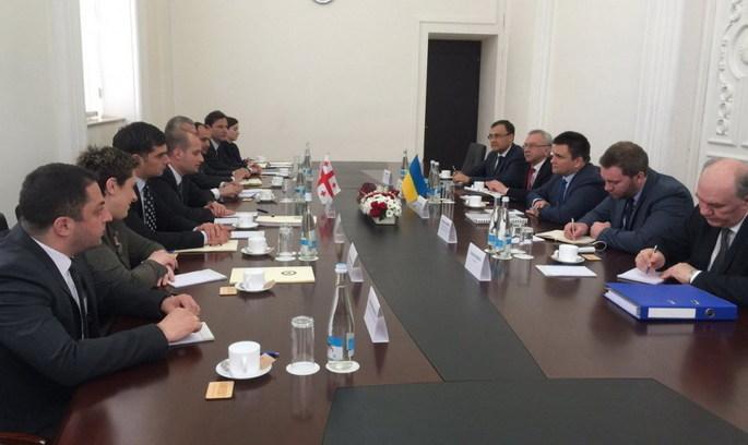 Україна й Грузія разом розвиватимуть «Новий шовковий шлях»