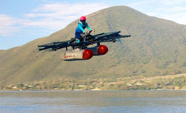 Співзасновник Google Ларрі Пейдж представив літаючу машину (ВІДЕО)