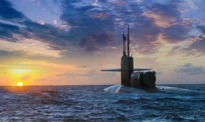 Атомна субмарина «Мічиган» прибула до Південної Кореї