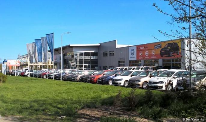 Легкові авто Volkswagen, Skoda і Audi в Криму не потрапили під санкції