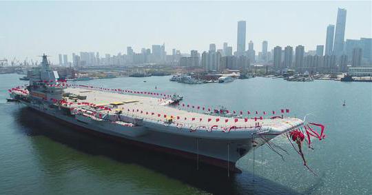 Китай презентував світу свій перший власний авіаносець (ВІДЕО)