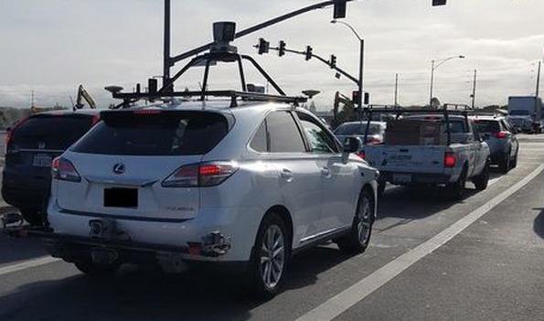 Перші безпілотні автомобілі Apple помічені на дорогах Каліфорнії