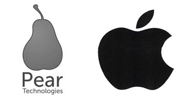 Apple заборонила використовувати грушу в логотипі