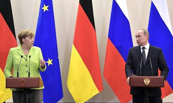 Зустріч Путіна і Меркель: про що говорили політики