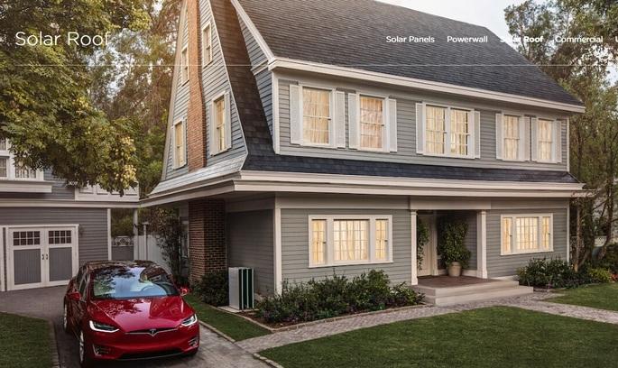 Tesla почала приймати попередні замовлення на «сонячні дахи»