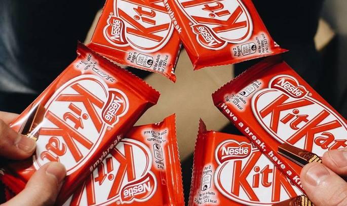 Nestle не зміг зареєструвати форму шоколадки KitKat як торгову марку