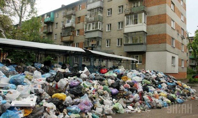 Прокуратура відкрила кримінальне провадження у зв'язку з невивезенням сміття зі Львова
