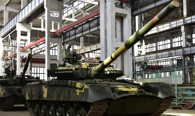 «Укроборонпром» передає військам оновлені танки Т-80 (ВІДЕО)