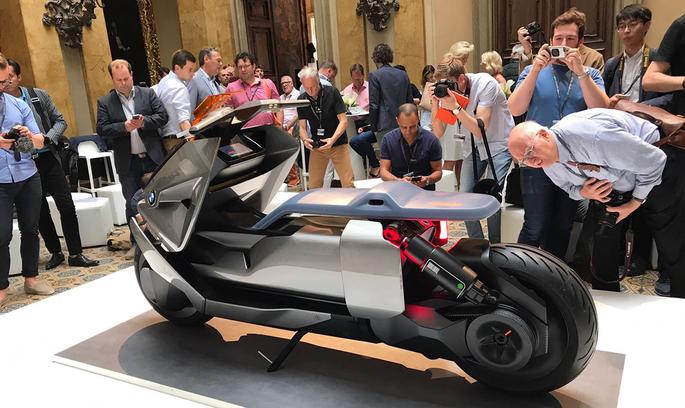 BMW презентувала новий унікальний концептуальний мотоцикл