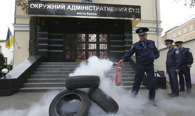 НАБУ проводить обшуки в Окружному адміністративному суді Києва
