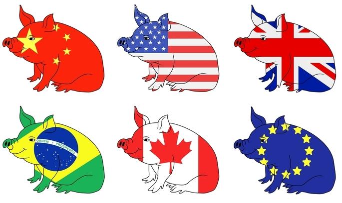 Китай надає перевагу канадській свинині