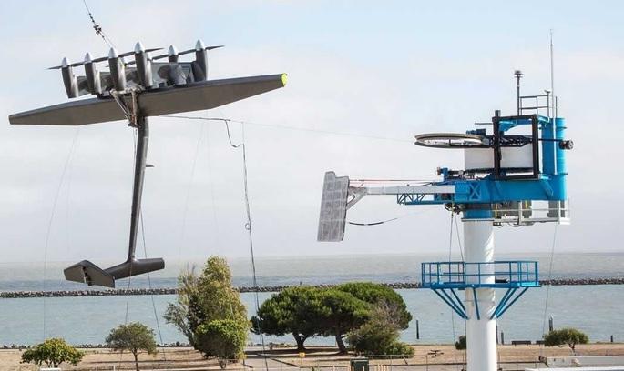 Google успішно випробував літаючу вітряну електростанцію (ВІДЕО)