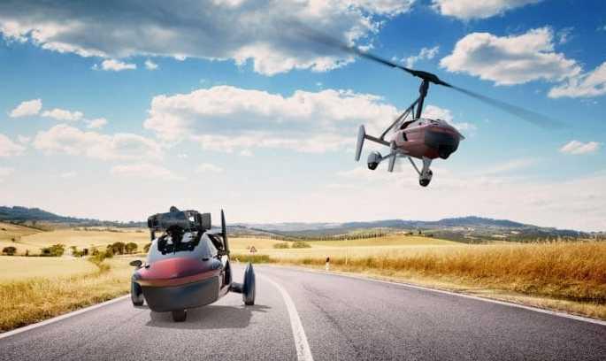 Перші ластівки: 3 автомобілі, які вміють і їздити, і літати