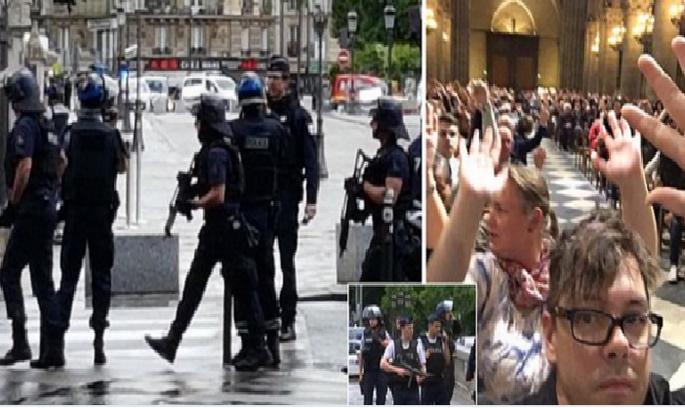 Напад на поліцейського у Парижі кваліфікують як теракт