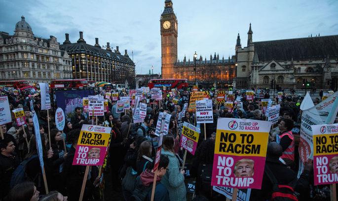 Трамп забоявся приїжджати у Великобританію через ризик протестів