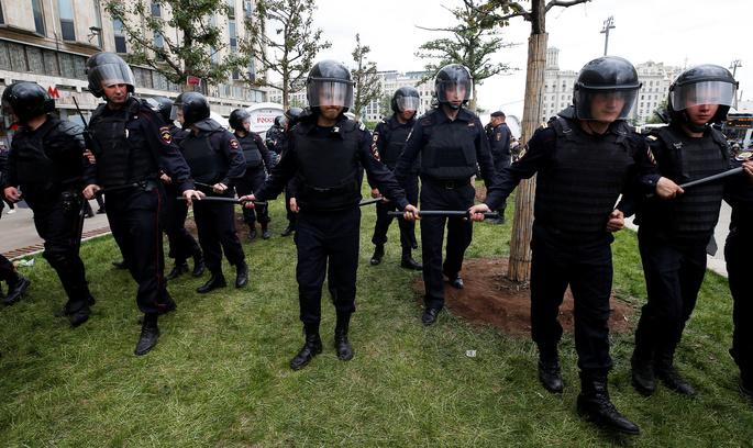 Опозиційні протести в Росії очима кореспондентів Reuters