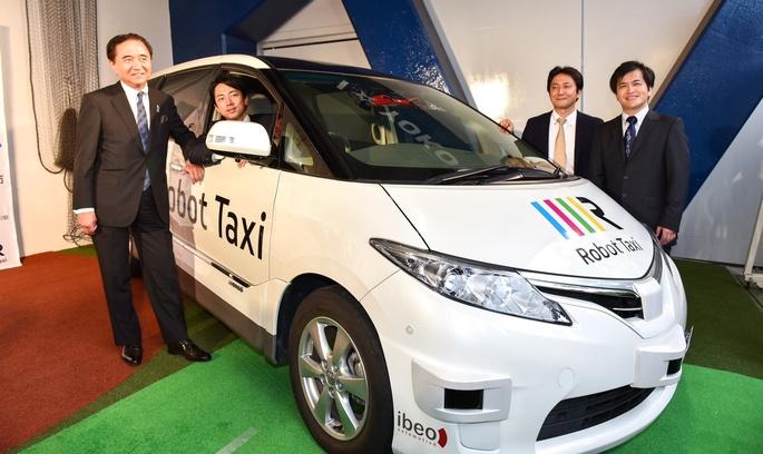 Відвідувачі Олімпійських ігор у Токіо зможуть пересуватись містом на безпілотних «робокарах»