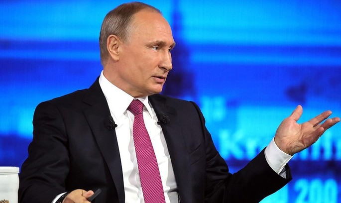«Пряма лінія» з Путіним: український безвіз, американські санкції та цитати з Тараса Шевченка