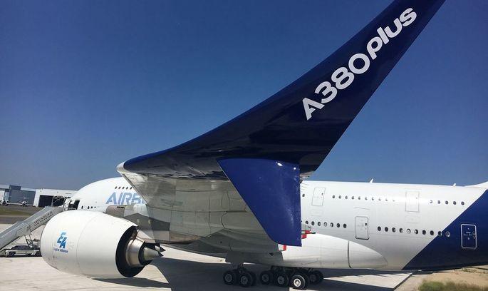 Airbus презентував оновлений авіалайнер A380 plus