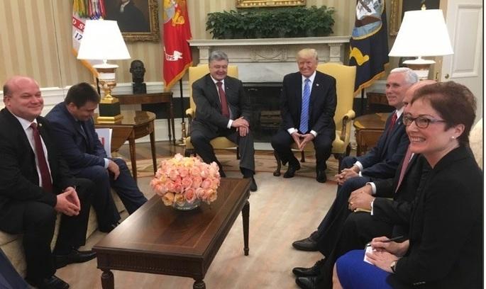 Порошенко зустрівся з Трампом: поговорили про вугілля
