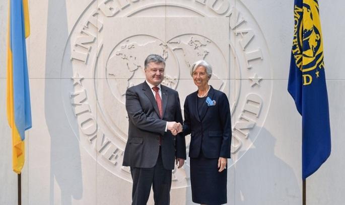 Економічний блок у США: Порошенко зустрівся з директором МВФ та президентом групи Світового банку