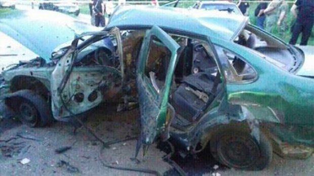 На Донеччині при вибуху автомобіля загинув співробітник СБУ