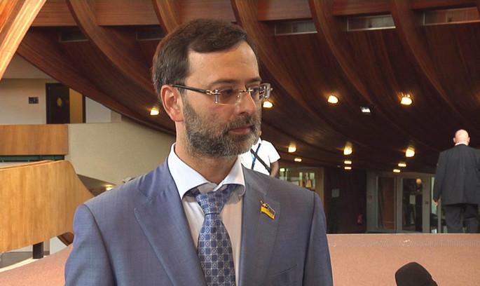 Українець сьогодні виконує обов'язки президента ПАРЄ замість Аграмунта