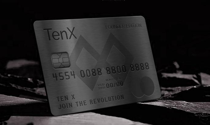 Стартап TenX випускатиме платіжні картки для криптовалют