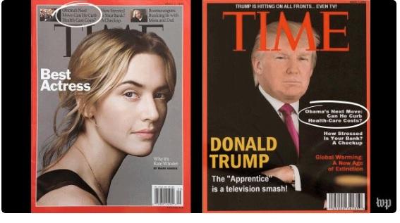 Трамп виготовив фейковий випуск журналу Time зі своїм обличчям на обкладинці
