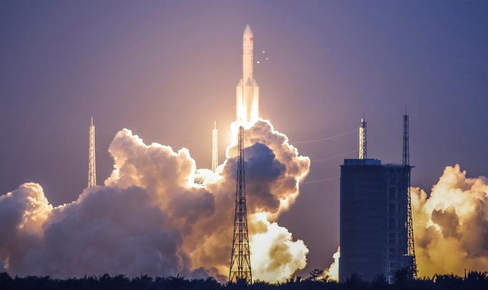 Китайська ракета, що мала летіти на орбіту, вийшла з ладу при запуску