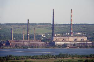Слов'янська ТЕС зупинилася з початком військових дій на Донбасі