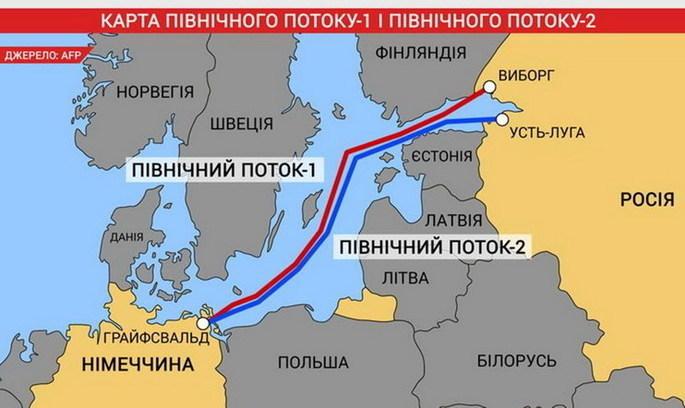 У «Північному потоці-2» протестують проти спроб американців експортувати газ в Європу