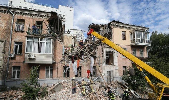 У Києві стався вибух, є жертви
