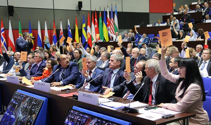 ПА ОБСЄ прийняла резолюцію«Відновлення суверенітету і територіальної цілісності України»