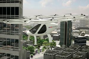 В Дубаї невдовзі літатимуть аеротаксі